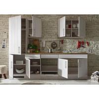 KUHINJSKI BLOK BEZ UREĐAJA - bijela/boje hrasta, Lifestyle, drvni materijal (270/212/60cm) - Xora
