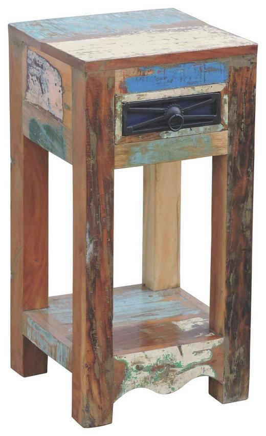 BEISTELLTISCH Altholz quadratisch Multicolor - Multicolor, LIFESTYLE, Holz (30/60/30cm) - Landscape