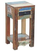 ODKLÁDACÍ STOLEK - vícebarevná, Lifestyle, dřevo (30/60/30cm) - Landscape