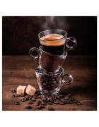 OBRAZ SKLENĚNÝ, jídlo & pití, káva, 20/20 cm,  - vícebarevná, Basics, sklo (20/20cm) - Monee