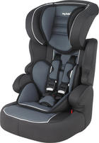 Kinderautositz Newline SP Luxe - Dunkelgrau/Hellgrau, Basics, Kunststoff/Textil (49/46/68,5cm) - My Baby Lou