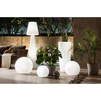 LED-AUßENLEUCHTE - Weiß, Design, Kunststoff (45/165cm)
