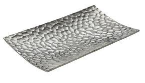 SKÅL - nickelfärgad, Design, metall (40/22/4cm) - Ambia Home