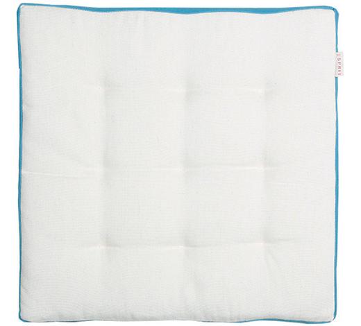 STUHLKISSEN Blau, Beige 38/38 cm  - Blau/Beige, Basics, Textil (38/38cm) - Esprit