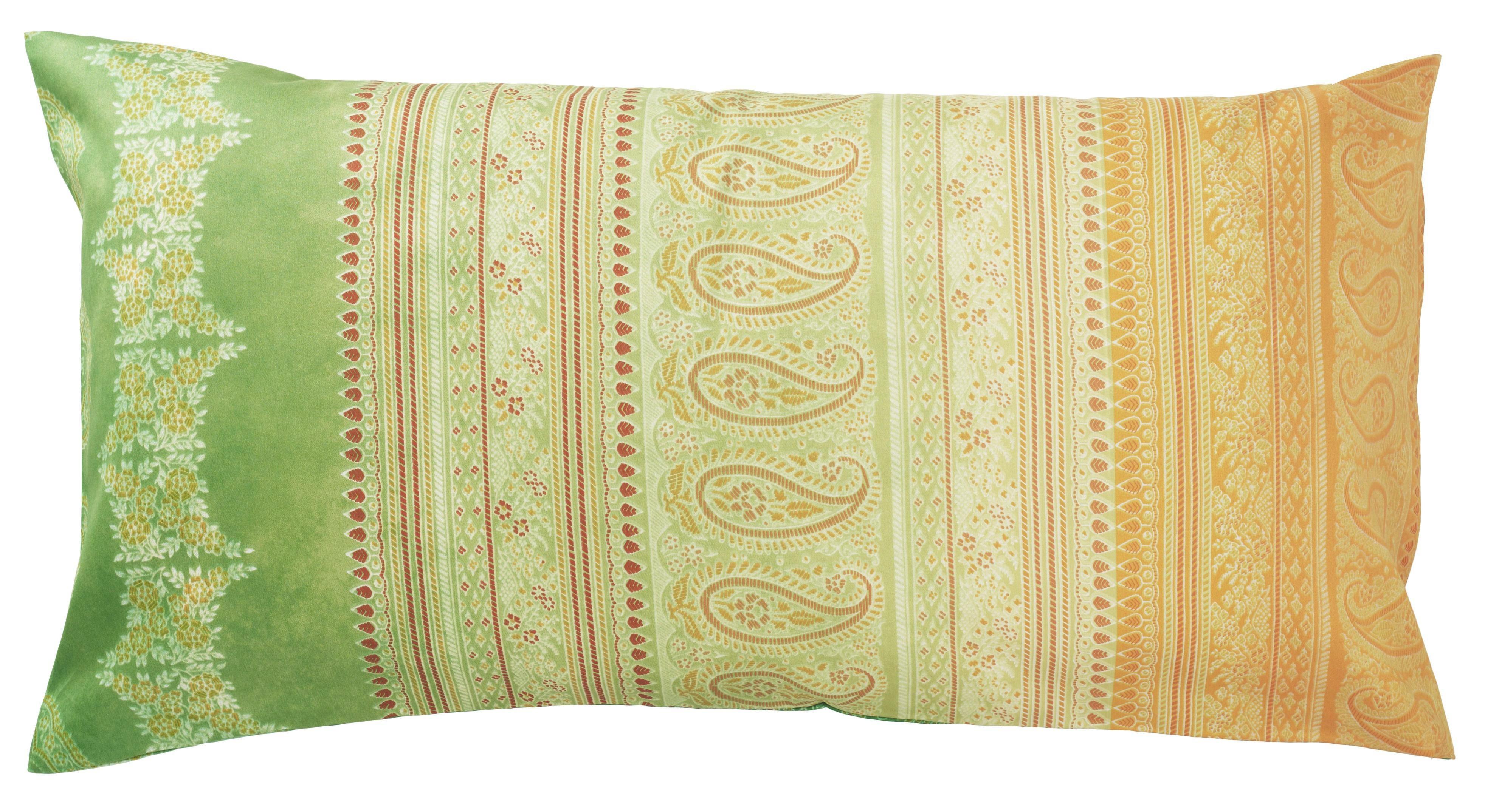 KISSENHÜLLE Grün - Grün, LIFESTYLE, Textil (40/80cm) - BASSETTI