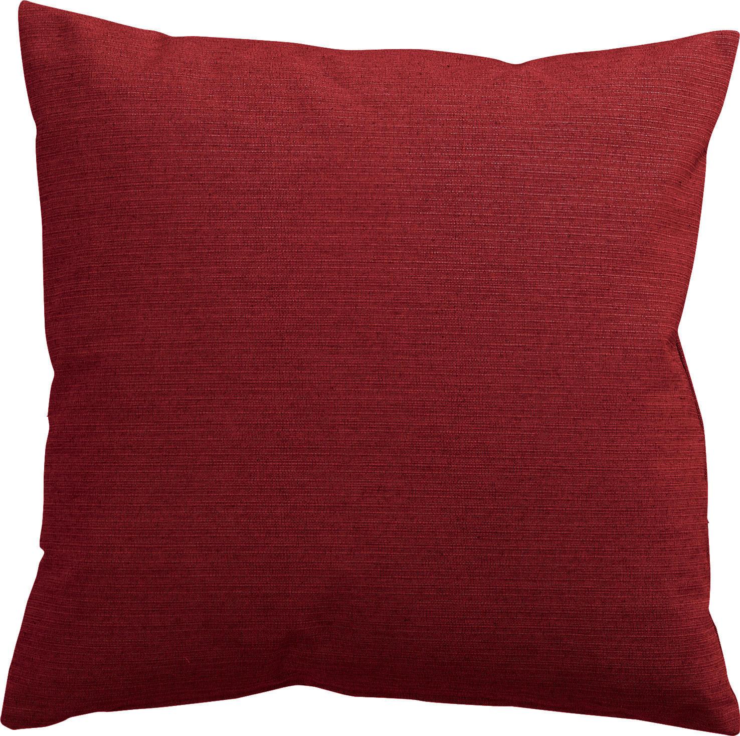 KISSENHÜLLE Rot 40/40 cm - Rot, Textil (40/40cm) - NOVEL