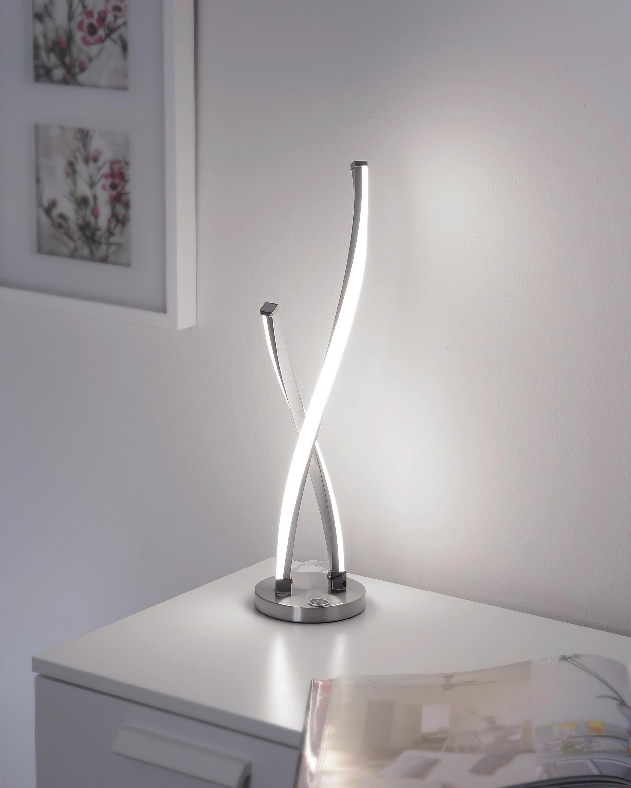 LED BORDSLAMPA - Design, metall (12,5/12,5/48,5cm)
