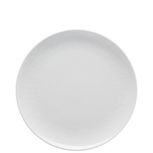 SPEISETELLER Keramik Porzellan - Weiß, Basics, Keramik (27cm)