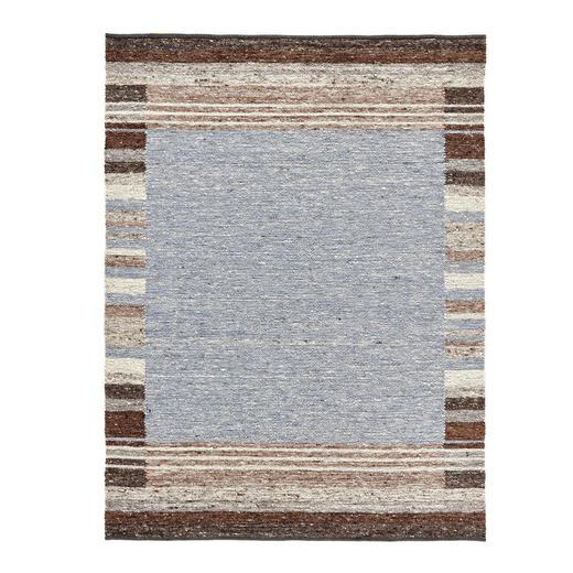 HANDWEBTEPPICH  170/240 cm  Braun, Grau - Braun/Grau, Basics, Textil (170/240cm) - Linea Natura