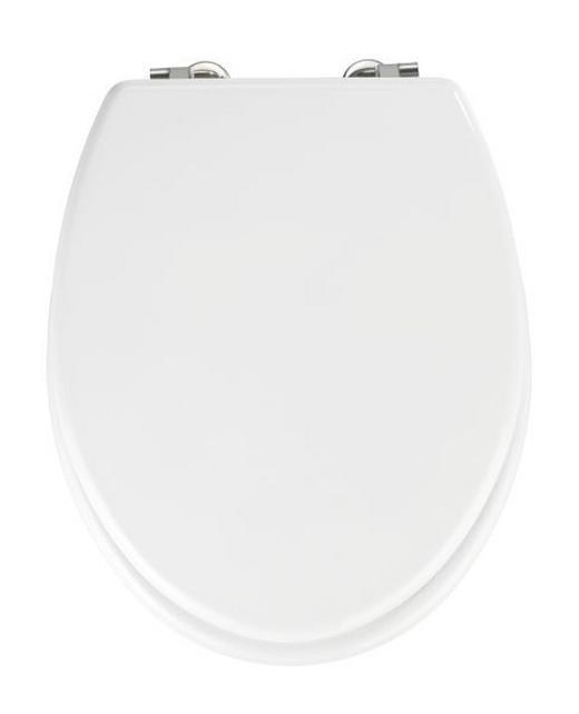 WC-SITZ Weiß - Weiß, Basics (38/5,5/46cm)