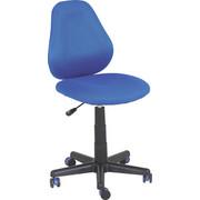 JUGENDDREHSTUHL - Blau/Schwarz, Design, Kunststoff/Textil (42/82-94/58cm) - XORA