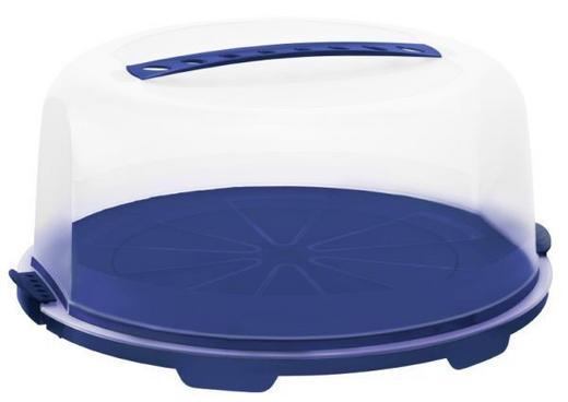 TORTENGLOCKE - Blau/Violett, Basics, Kunststoff (35,5/16,5cm)
