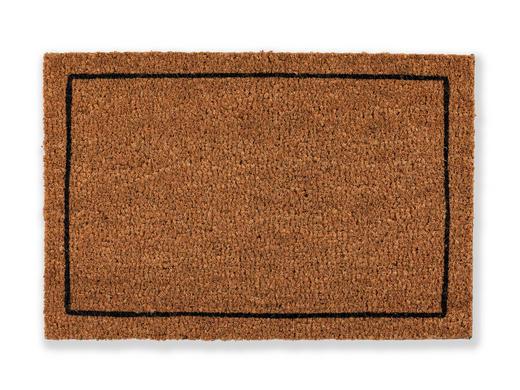 FUßMATTE 40/60 cm - Braun, KONVENTIONELL, Textil (40/60cm) - Schöner Wohnen