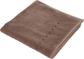 DUSCHHANDDUK - brun/mullvadsfärgad/gråbrun, Klassisk, textil (70/140cm) - Esposa