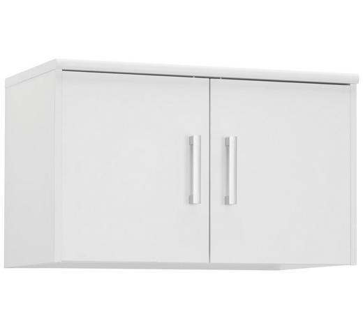 NÁSTAVEC NA SKŘÍŇ, bílá - bílá/barvy stříbra, Konvenční, kov/kompozitní dřevo (72/43/36cm) - Xora