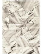 WEBTEPPICH - Grau, Design, Naturmaterialien/Textil (80/150cm) - Novel