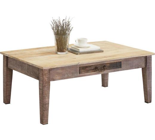 KONFERENČNÍ STOLEK, mangové dřevo, hnědá - hnědá, Lifestyle, dřevo (118/70/45cm) - Landscape
