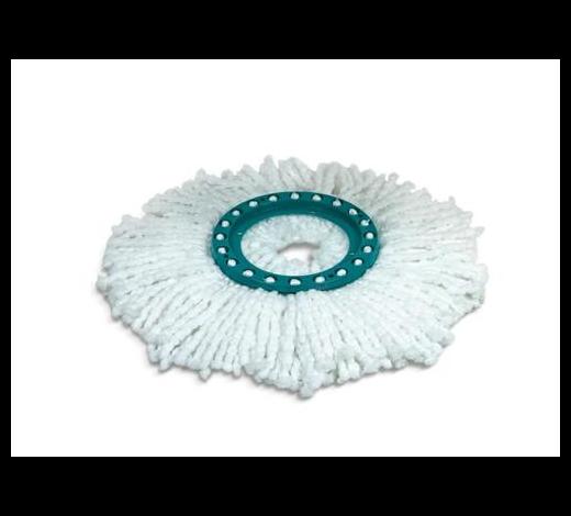 MOP - bílá/tyrkysová, Basics, textil/umělá hmota - Leifheit