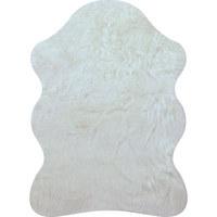KUNSTFELL - Weiß, Natur, Textil (80/110cm) - Boxxx