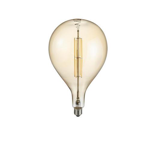 LEUCHTMITTEL - Braun, Design, Glas (16/32cm)