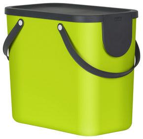 AVFALLSSAMLARE - lime, Basics, plast (40/23,5/34cm) - Rotho