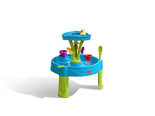SAND- UND WASSERTISCH Kunststoff Blau, Multicolor - Blau/Multicolor, Basics, Kunststoff (66,04/57,15/66,04cm)