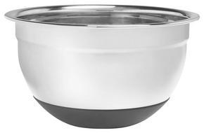 VISPSKÅL - rostfritt stål-färgad, Basics, metall/plast (16/10,5cm) - Homeware