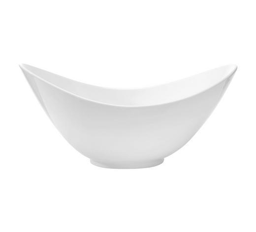 SCHÜSSEL - Weiß, Basics, Keramik (29/20,3/13,5cm) - Novel