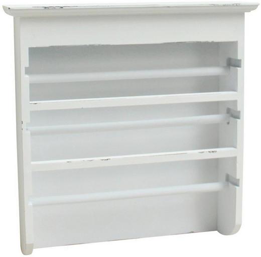 WANDREGAL Weiß - Weiß (40 41 10cm)
