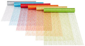 Dekostoff Lucia - Blau/Gelb, KONVENTIONELL, Textil (35/500cm) - Ombra