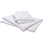 RUTSTICKAT TÄCKE - vit, Basics, textil (150/210cm) - Sleeptex