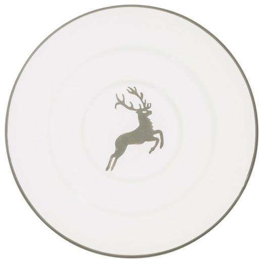 UNTERTASSE - Weiß/Grau, LIFESTYLE, Keramik (16cm) - Gmundner