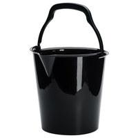 EIMER 10 l - Grau, Basics, Kunststoff (10,0l)