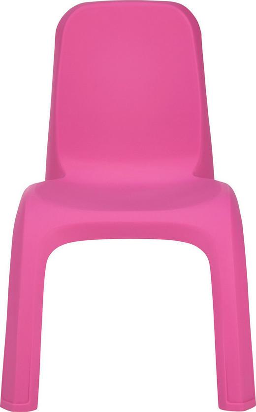 KINDERSTUHL - Pink, Trend, Kunststoff (35/35/54cm) - My Baby Lou