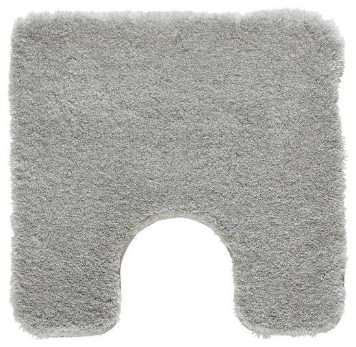 WC-VORLEGER  Grau - Grau, Basics, Kunststoff/Textil (55/55/cm) - Kleine Wolke
