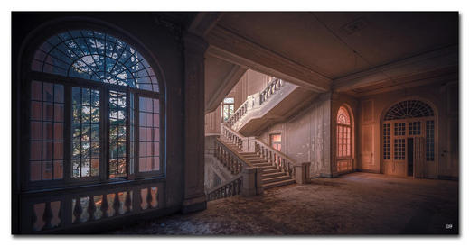 Architektur BILD SPARKS WILL FLY - Multicolor, Basics, Holzwerkstoff/Kunststoff (100/50cm) - Wiedemann