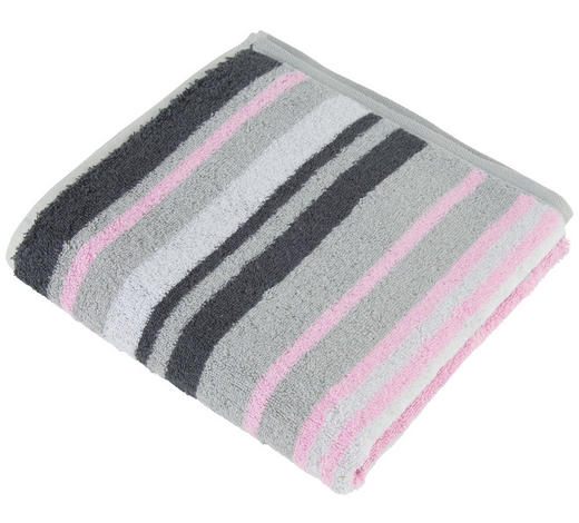 HANDTUCH 50/100 cm - Pink, Design, Textil (50/100cm) - Cawoe