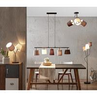 HÄNGELEUCHTE - Multicolor, Design, Textil/Metall (105/20/110cm)