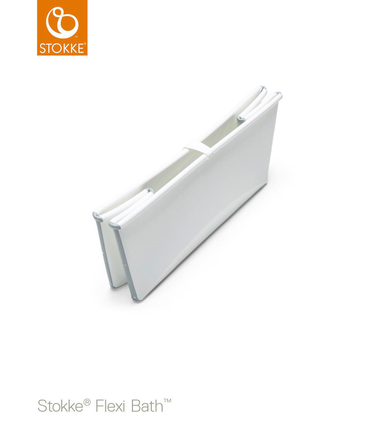 OTROŠKA KOPALNA KAD - bela, Basics, umetna masa (66/34/24cm) - STOKKE