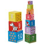 STAPELTURM - Multicolor, Basics, Karton/Naturmaterialien (13,5/13,5/13,5cm) - My Baby Lou