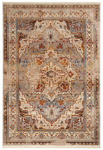 RETRO TEPIH - Boja rđe/Siva, Konvencionalno, Tekstil (200/285cm) - Esposa