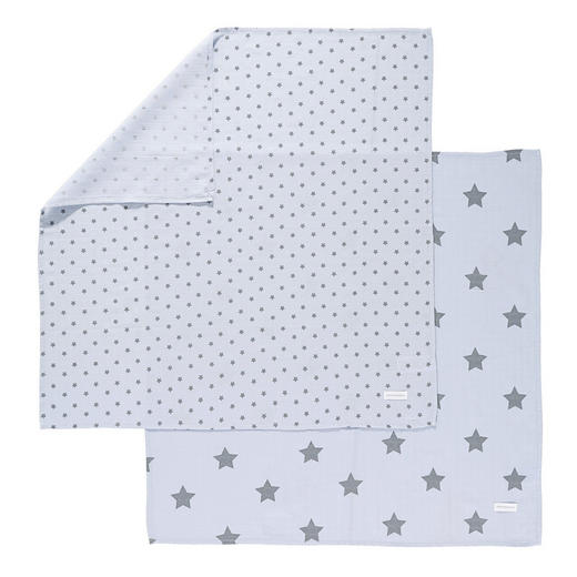 STOFFWINDEL - Hellblau, Basics, Textil (80/80cm) - Belly Button