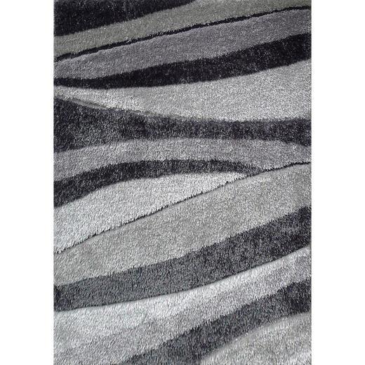 HOCHFLORTEPPICH - Grau, Design, Textil (160/230cm) - Novel