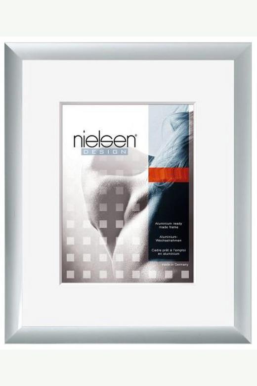 BILDERRAHMEN  Silberfarben - Silberfarben, Metall (40/50cm)