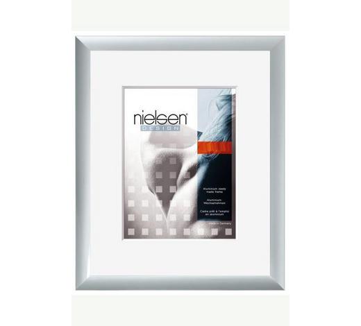 WECHSELRAHMEN 40X50CM in Silberfarben  - Silberfarben, Basics, Metall (40/50cm) - Nielsen