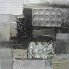 OLEJOMALBA - Multicolor, Basics, dřevo/textil (30/30cm) - MONEE
