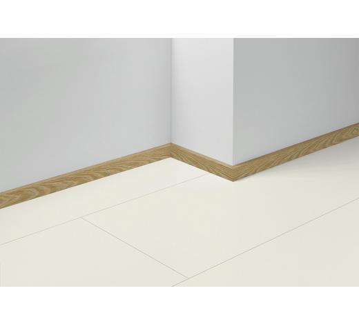 SOCKELLEISTE Braun, Gelb, Eichefarben - Eichefarben/Gelb, Basics, Holzwerkstoff (257/4/1,6cm) - Parador
