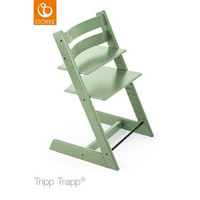 Hochstuhl Tripp Trapp - Apfelbaumfarben/Mintgrün, Lifestyle, Holz (46/79/49cm) - Stokke