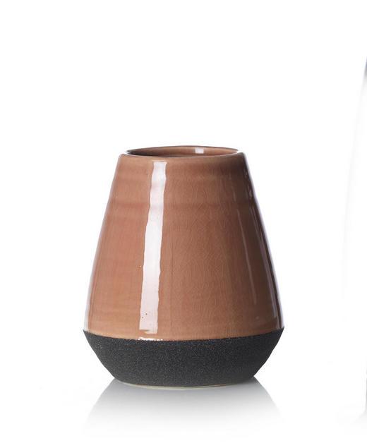 VASE 16 cm - Anthrazit/Braun, Design, Keramik (16cm) - Ritzenhoff Breker