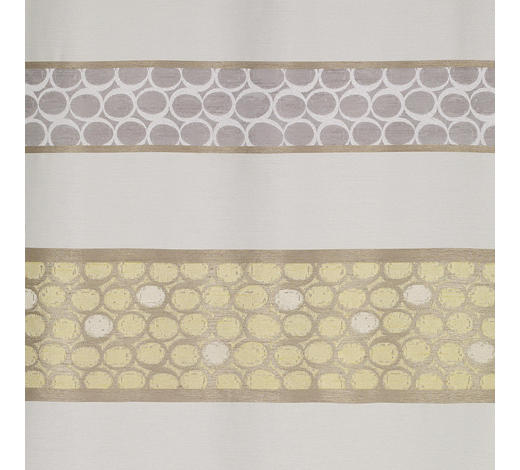 DEKOSTOFF per lfm halbtransparent  - Gelb, KONVENTIONELL, Textil (150cm) - Esposa